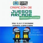 Creación de jugos Arcade (9-11 años)