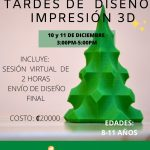 Intro a la Impresión 3D Intensivo (8-11 años)