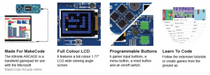 Consola Videojuegos arcade. Kitronik