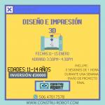 Campamento Internacional – Intro a la impresión 3D