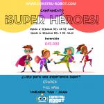 Campamento de medio año. Crea superhéroes. 5 a 7 años