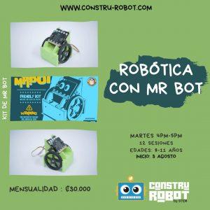Curso de Robótica con Mr. Bot